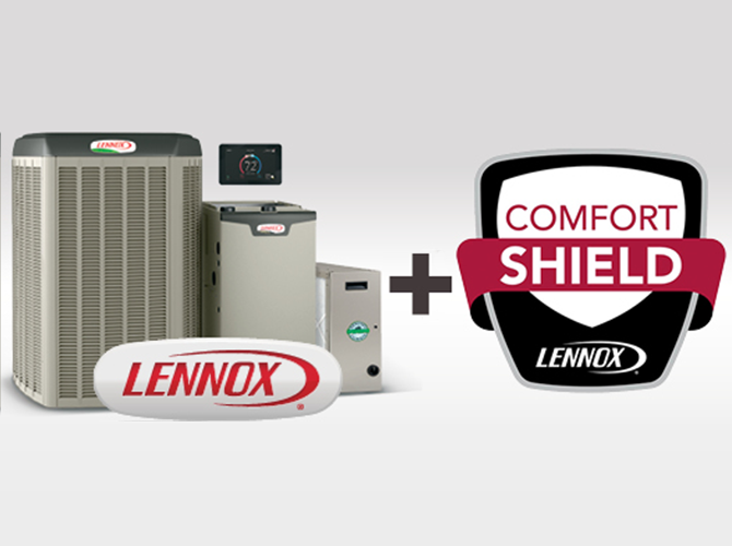 Lennox Comfort Shield callout