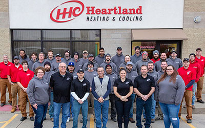 Heartland Heating & Cooling team